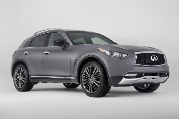 2017 Infiniti QX70 Limited © Nissan Motor Co., Ltd.