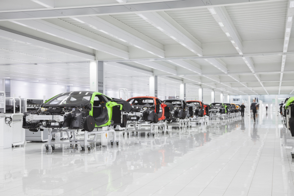 McLaren launches Track22 six year investment programme © McLaren Automotive