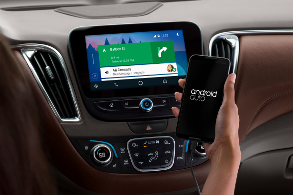Android Auto Update Now Available At Chevy Dealers © General Motors