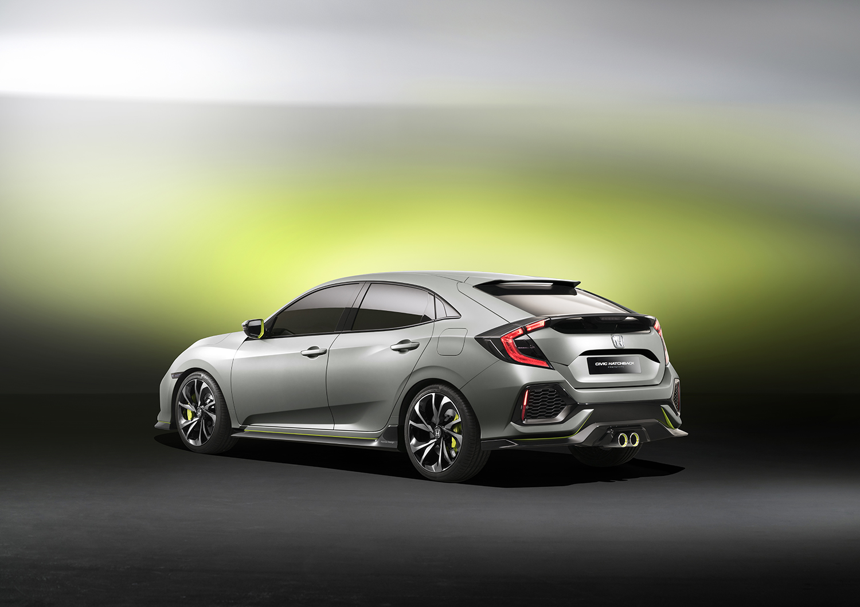 Honda Civic Hatchback Prototype © Honda Motor Co., Ltd.
