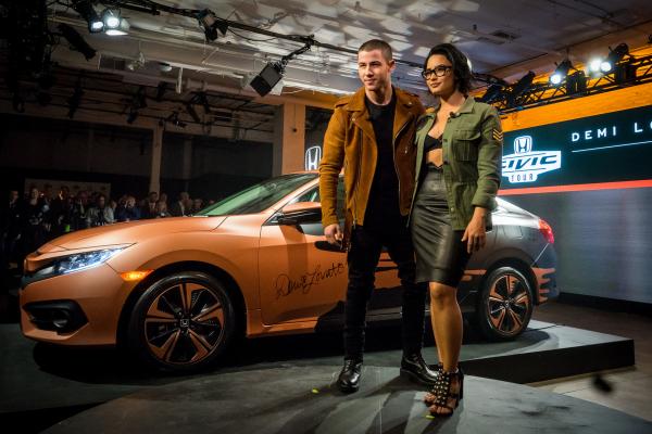 Demi Lovato and Nick Jonas to Headline 15th Anniversary Honda Civic Tour This Summer © Honda Motor Co., Ltd.