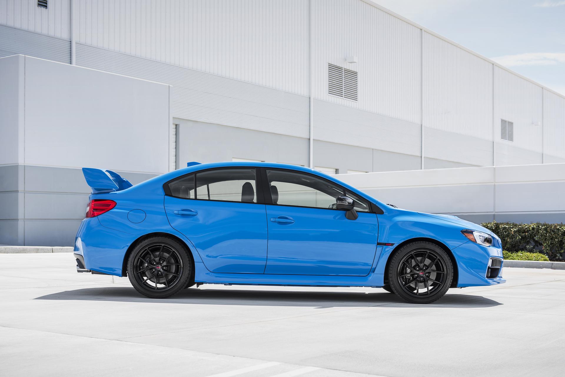 2016 Subaru Wrx Sti Review Carrrs Auto Portal Blue With White Rims Hyperblue Fuji Heavy Industries Ltd