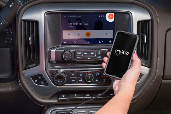 GMC Expands Android Auto Availability © General Motors