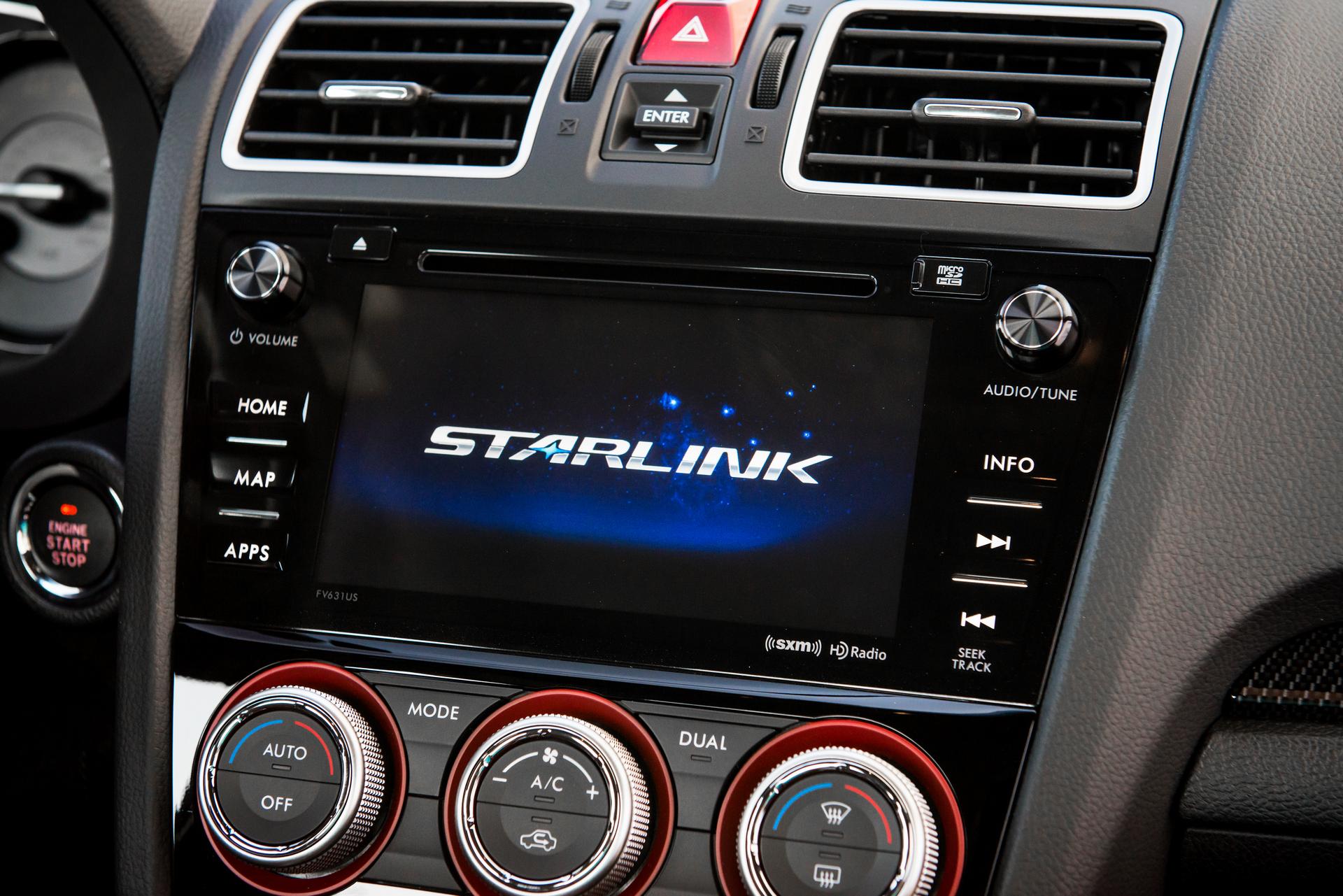 2016 Subaru STARLINK © Fuji Heavy Industries, Ltd.