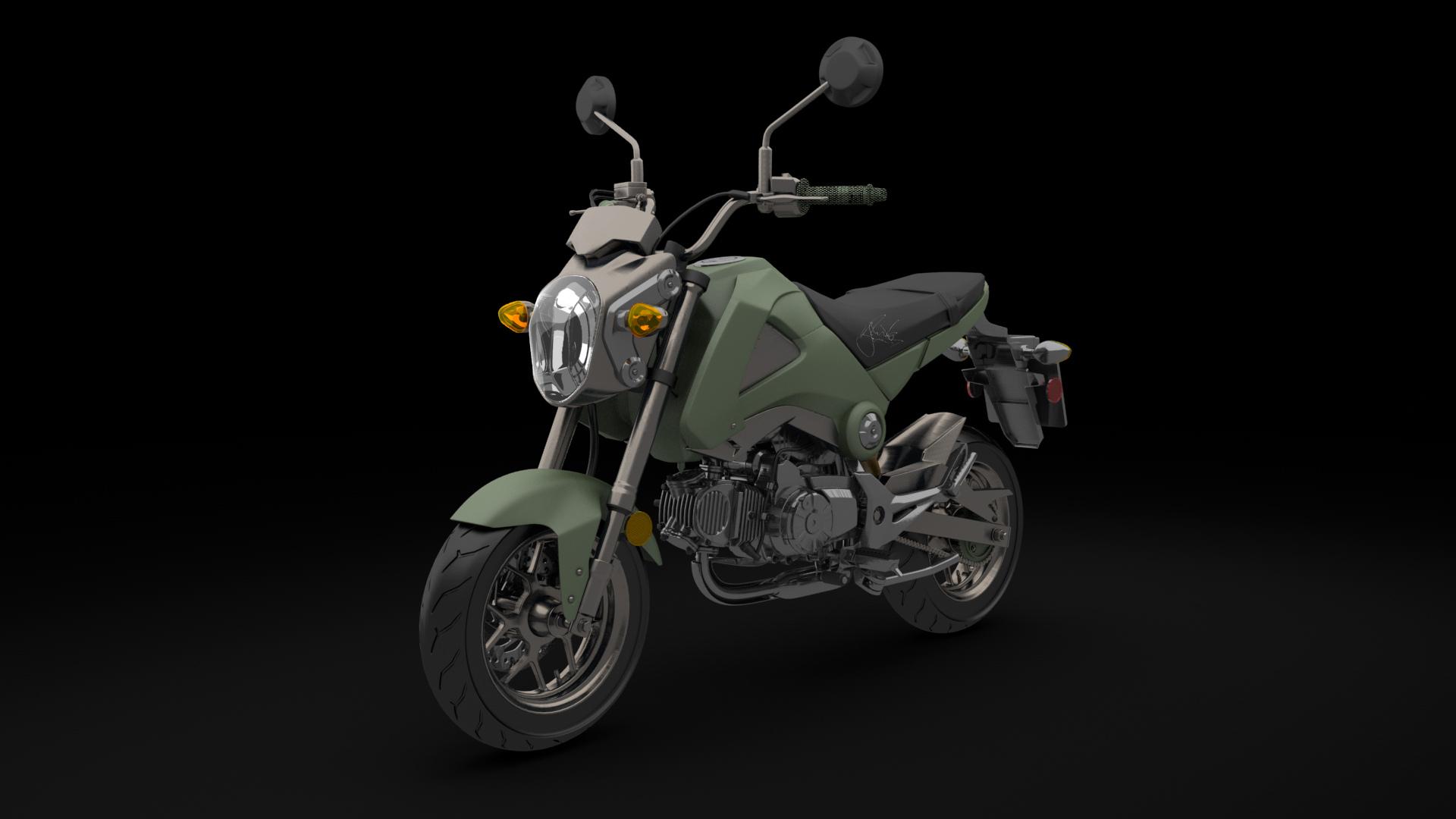 Honda Grom Motorcycle Customized And Autographed By Nick Jonas 169 Honda Motor Co Ltd Carrrs