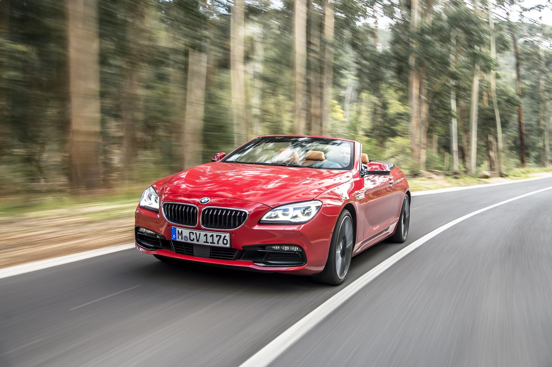 BMW 6 Series Convertible © BMW AG
