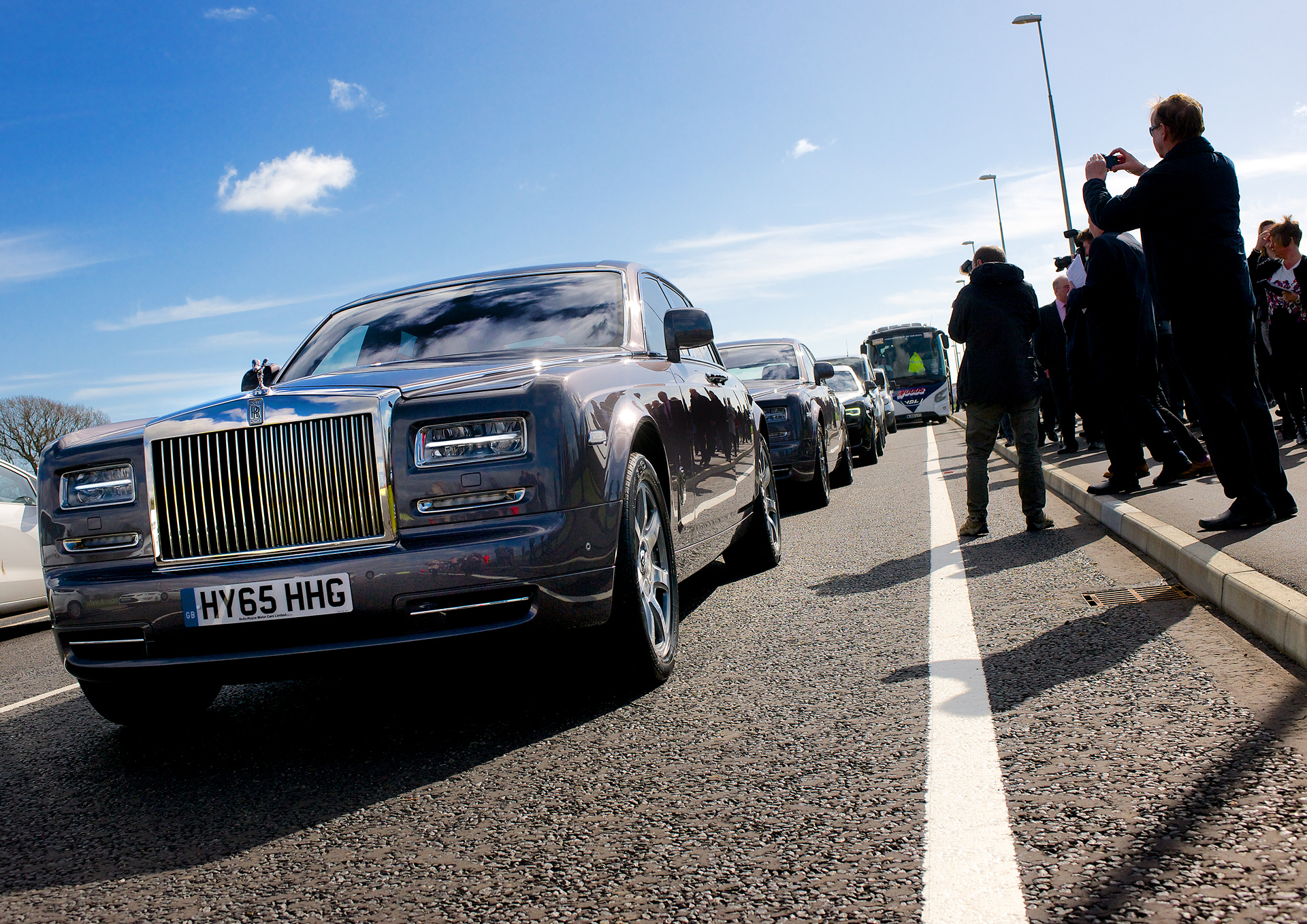 Rolls-Royce Motor Cars Leads Celebration at the Opening of the Bognor Regis North Relief Road © BMW AG