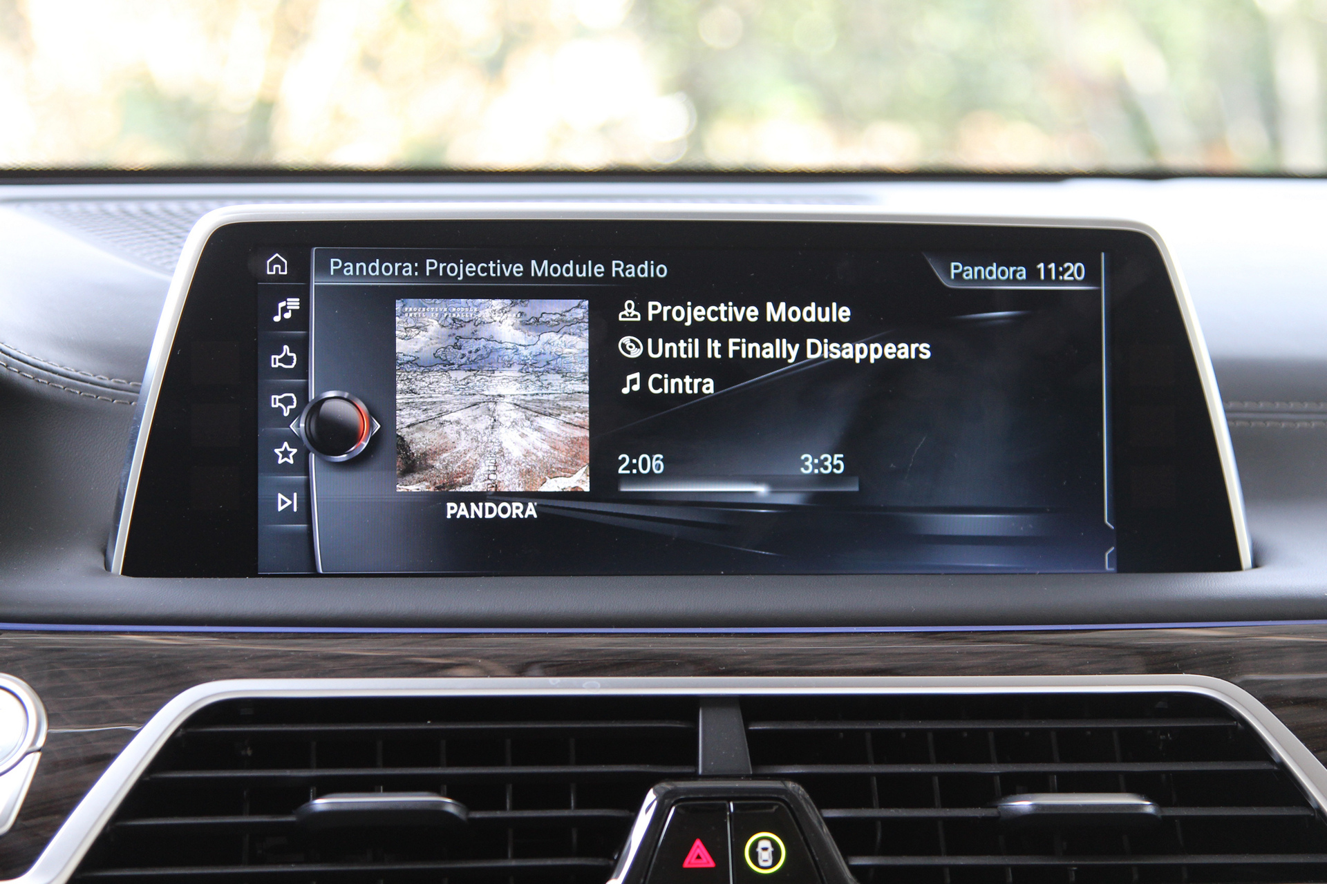 Pandora Integration for Android in the new BMW 7 Series © BMW AG