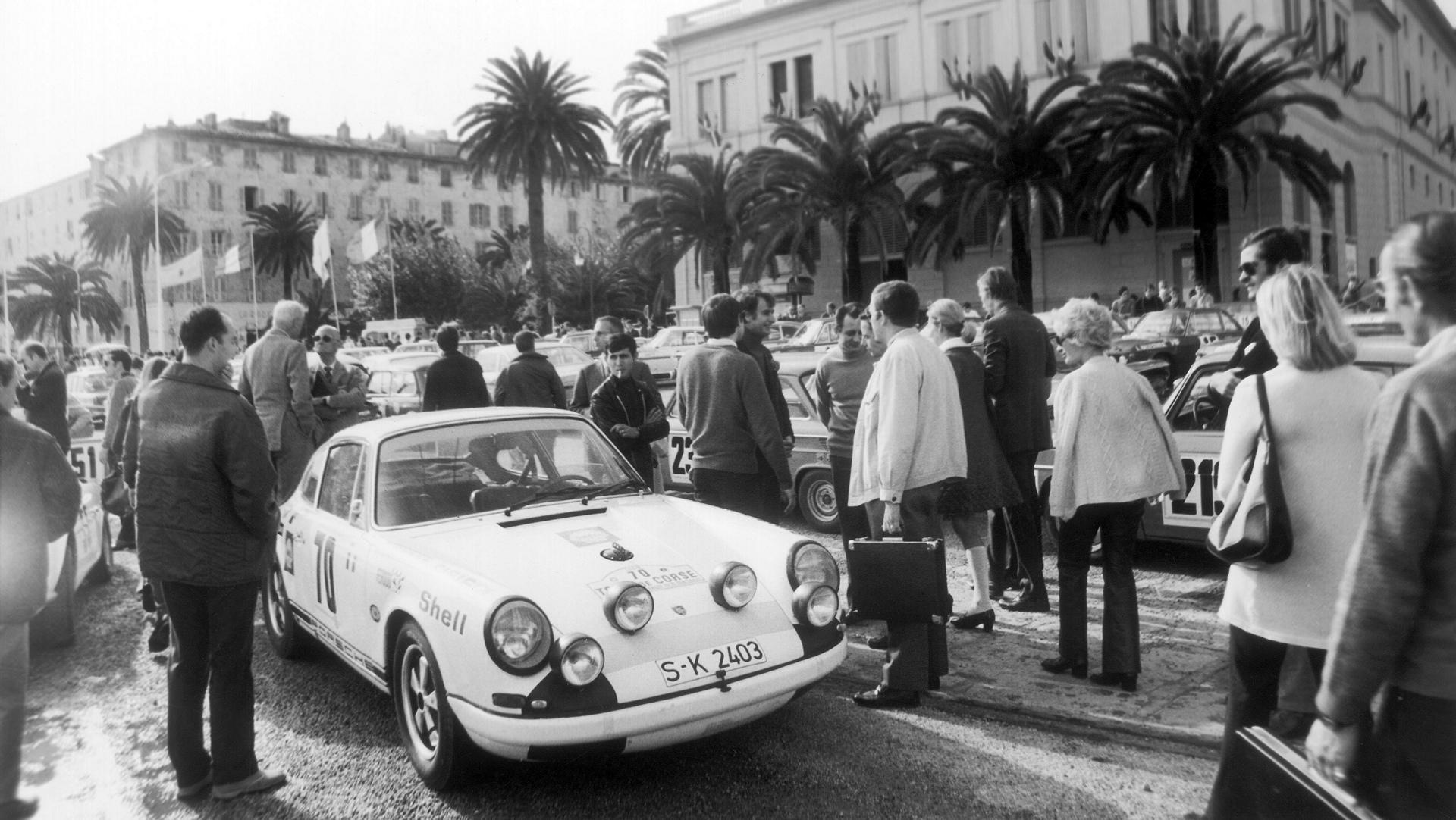 Porsche 911 R, 14th Tour de Corse, 1969 © Dr. Ing. h.c. F. Porsche AG
