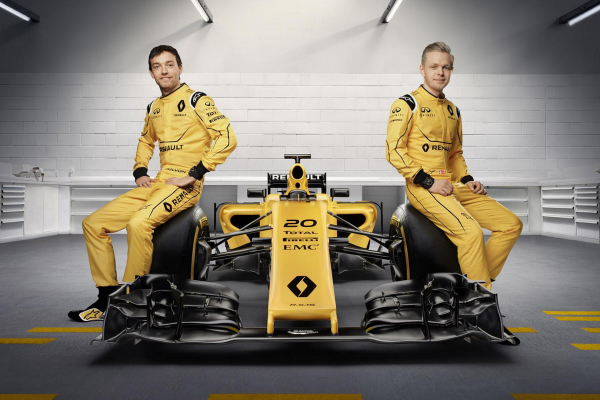 Renault Sport Formula One Team 2016 livery © Nissan Motor Co., Ltd.