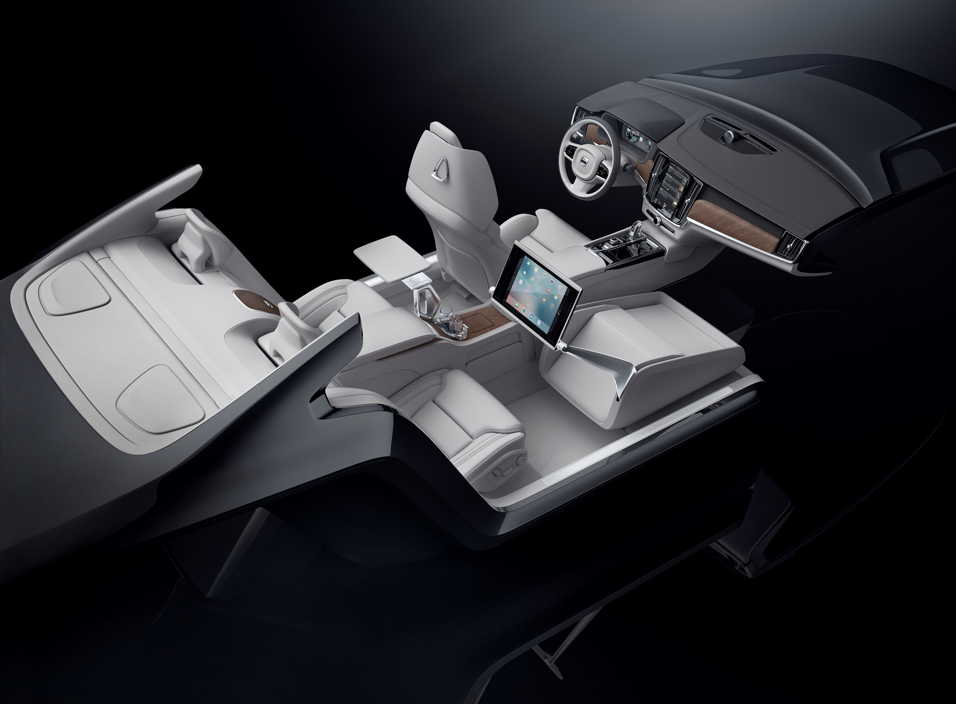 Volvo S90 Excellence Interior Concept Is A Piece Of Art