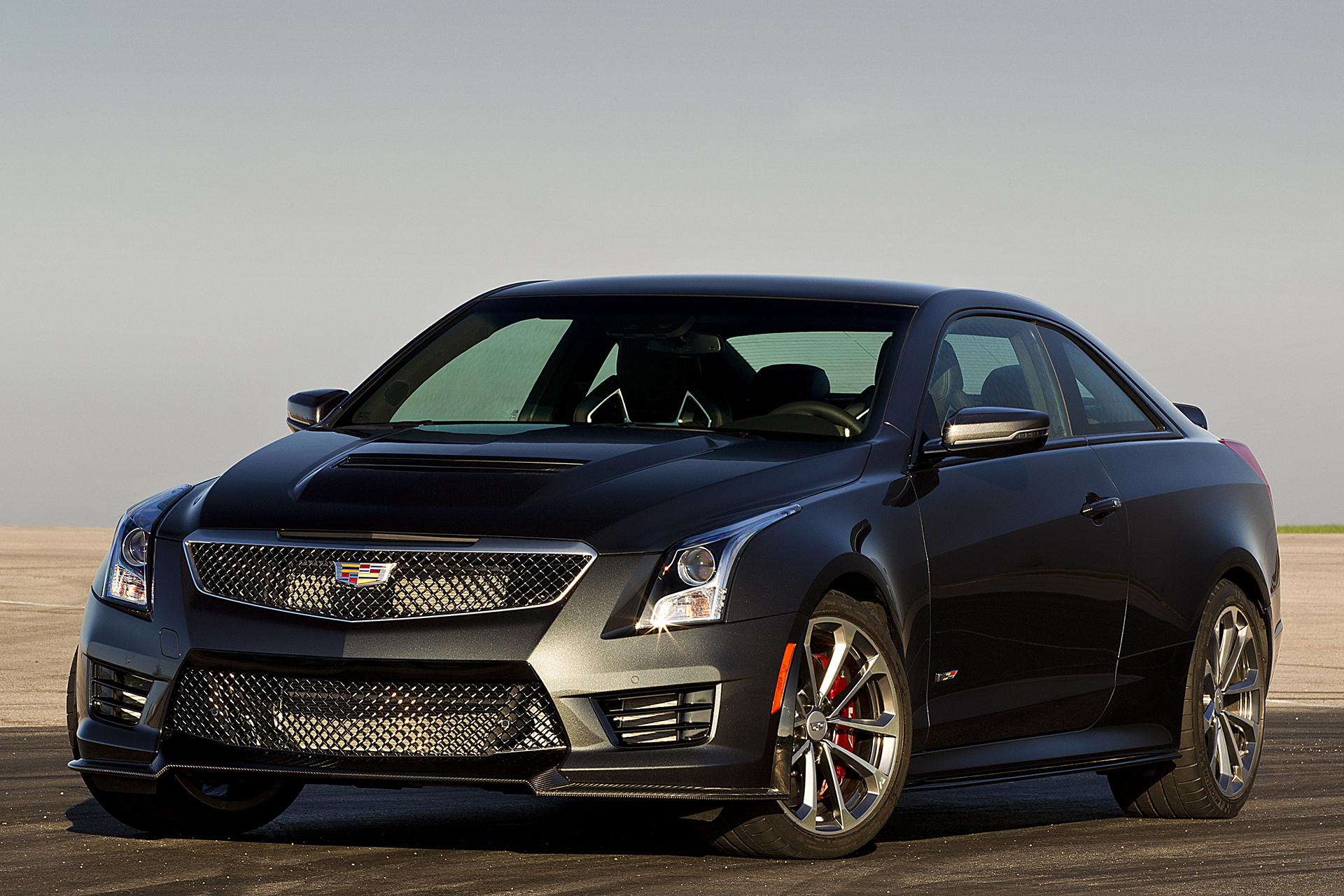 2016 Cadillac ATS-V Coupe © General Motors
