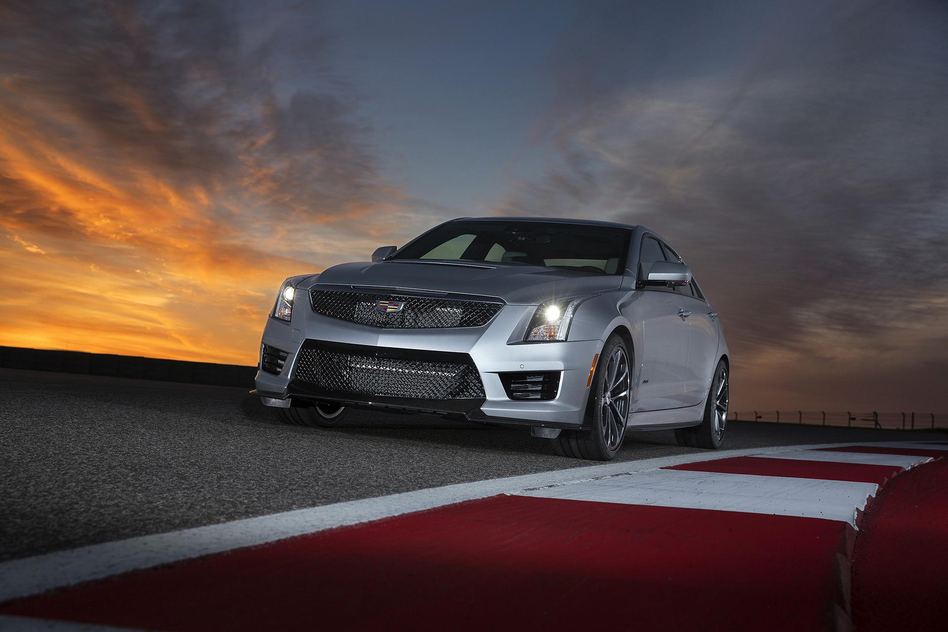 2016 Cadillac ATS-V Sedan © General Motors