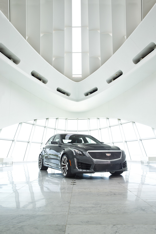 2016 Cadillac Cts V Sedan Review Carrrs Auto Portal