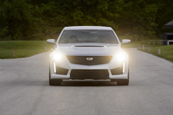 2016 Cadillac CTS-V Sedan © General Motors