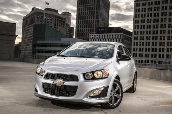 2016 Chevrolet Sonic RS Sedan © General Motors