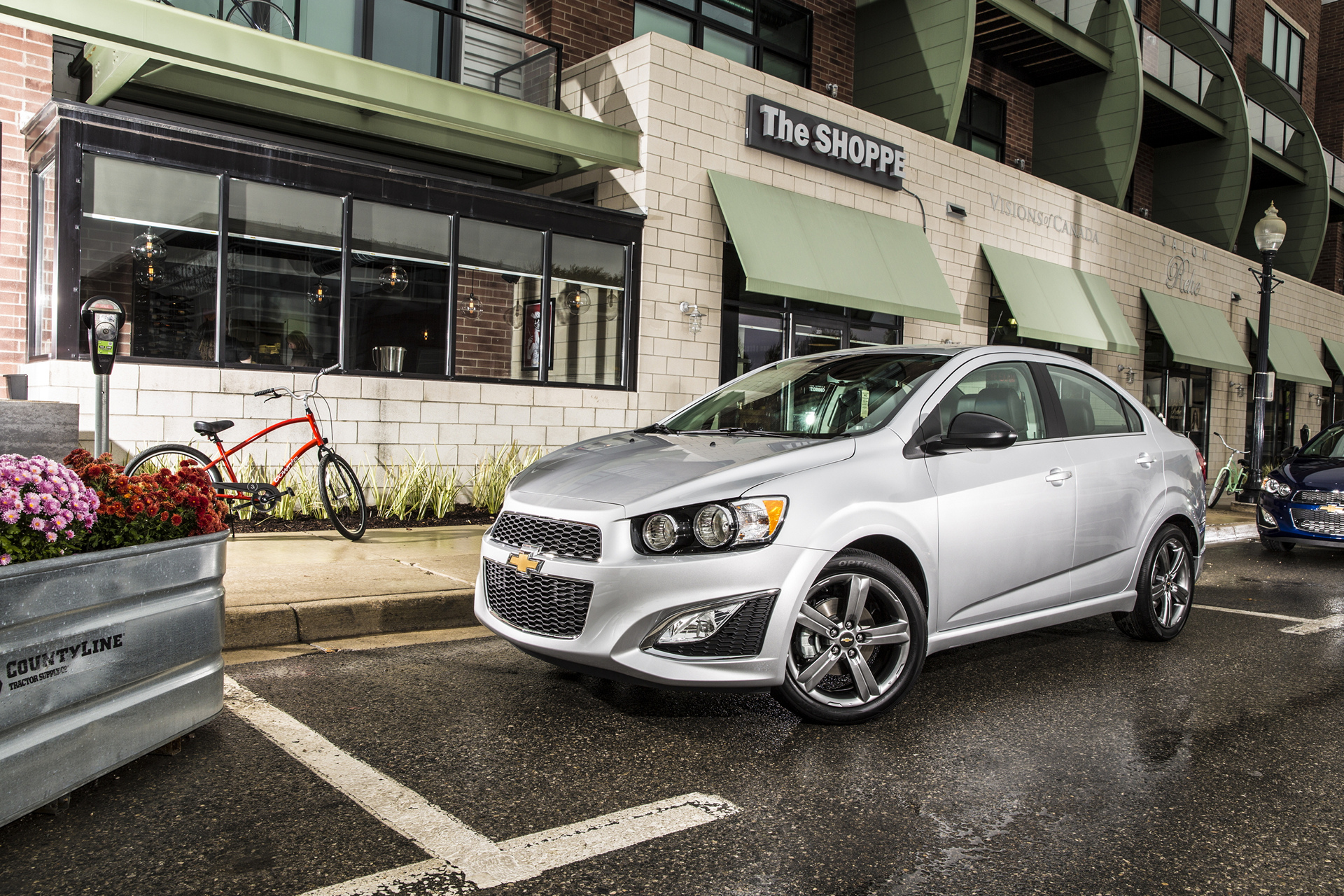 2016 Chevrolet Sonic RS Sedan © General Motors