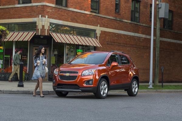 2016 Chevrolet Trax © General Motors