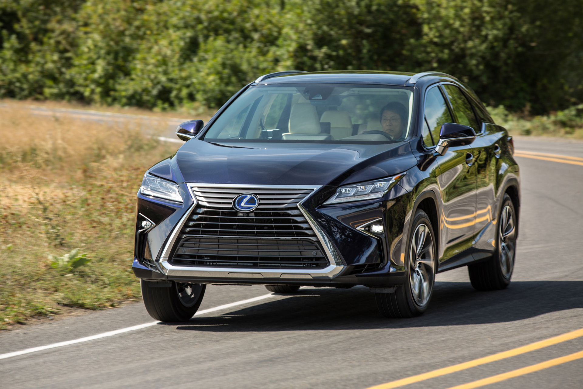 2016 Lexus RX 450h © Toyota Motor Corporation
