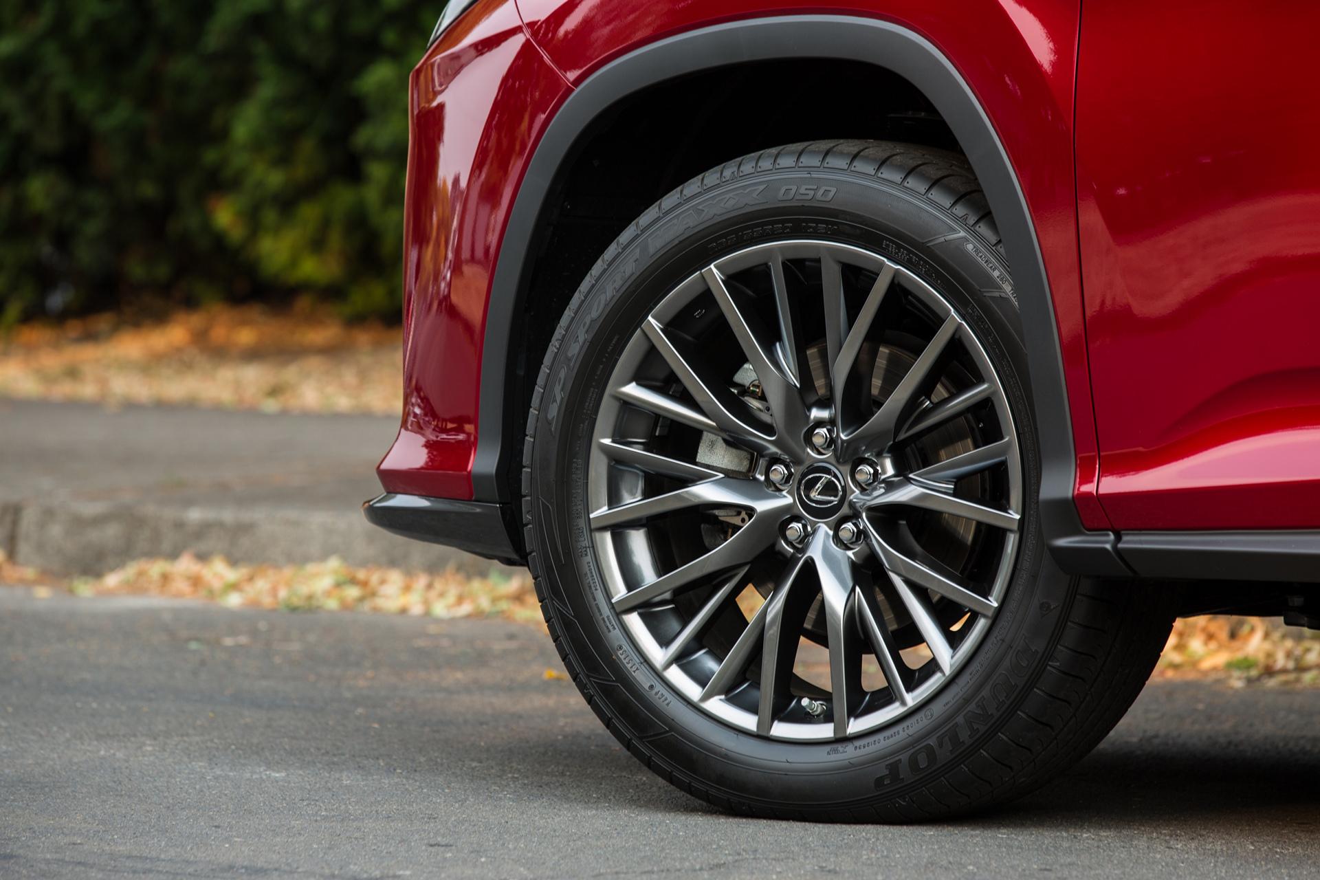 2016 Lexus RX 450h F SPORT © Toyota Motor Corporation