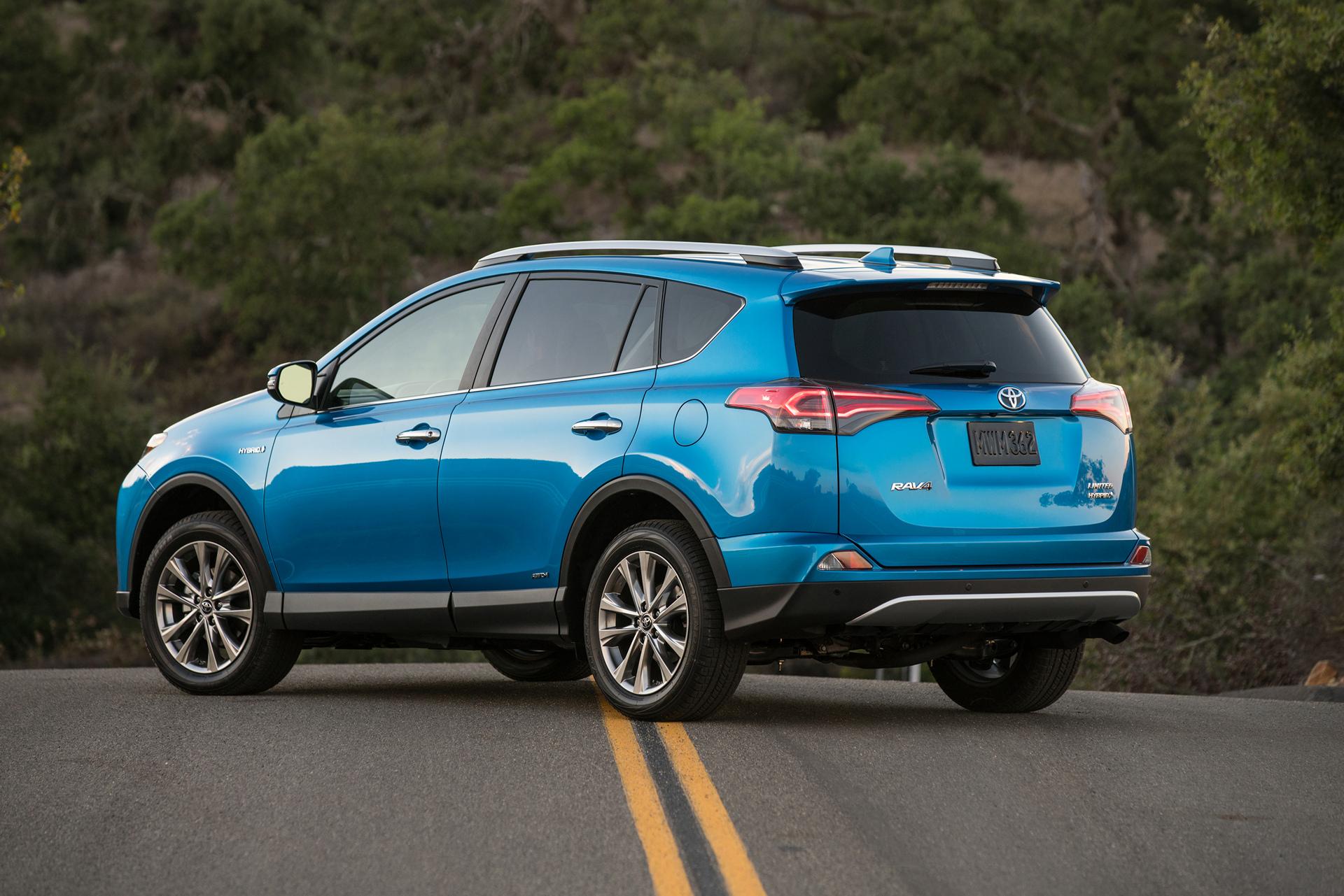 2016 Toyota Rav4 Hybrid Limited Motor Corporation
