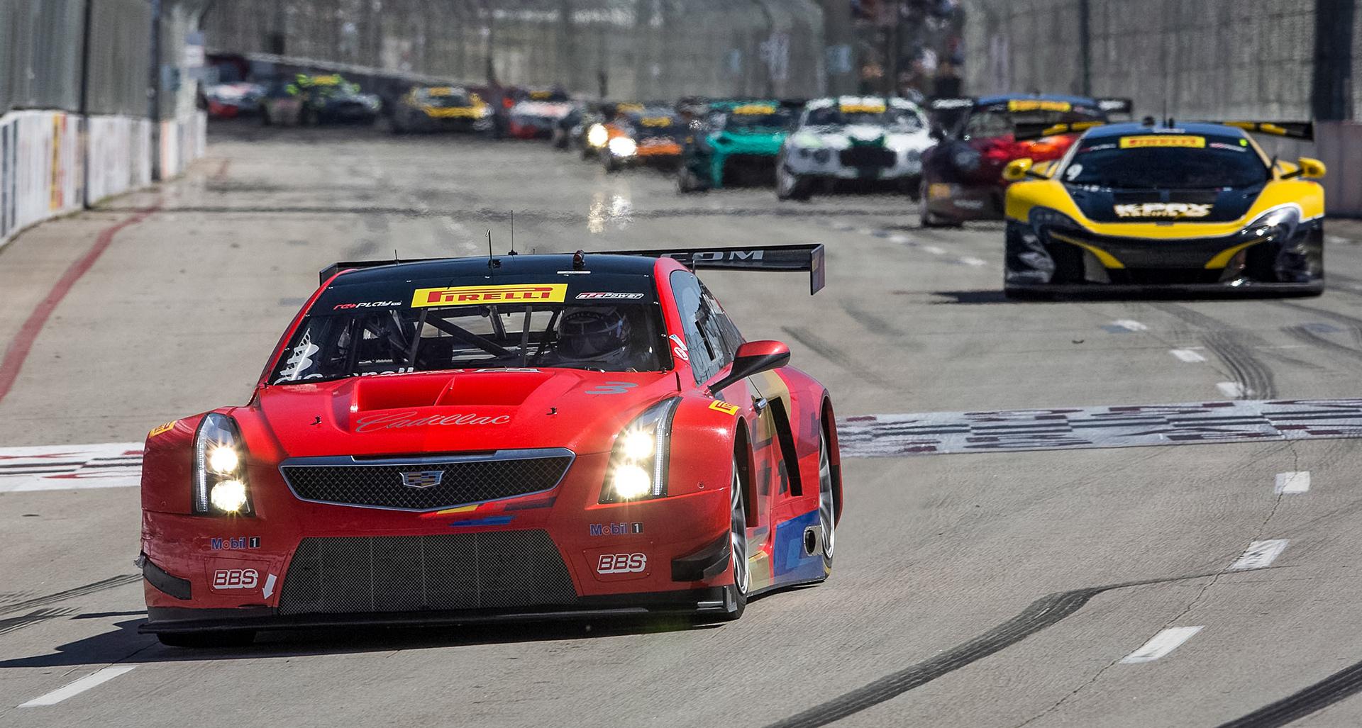 Cadillac's O'Connell Wins at Long Beach © General Motors