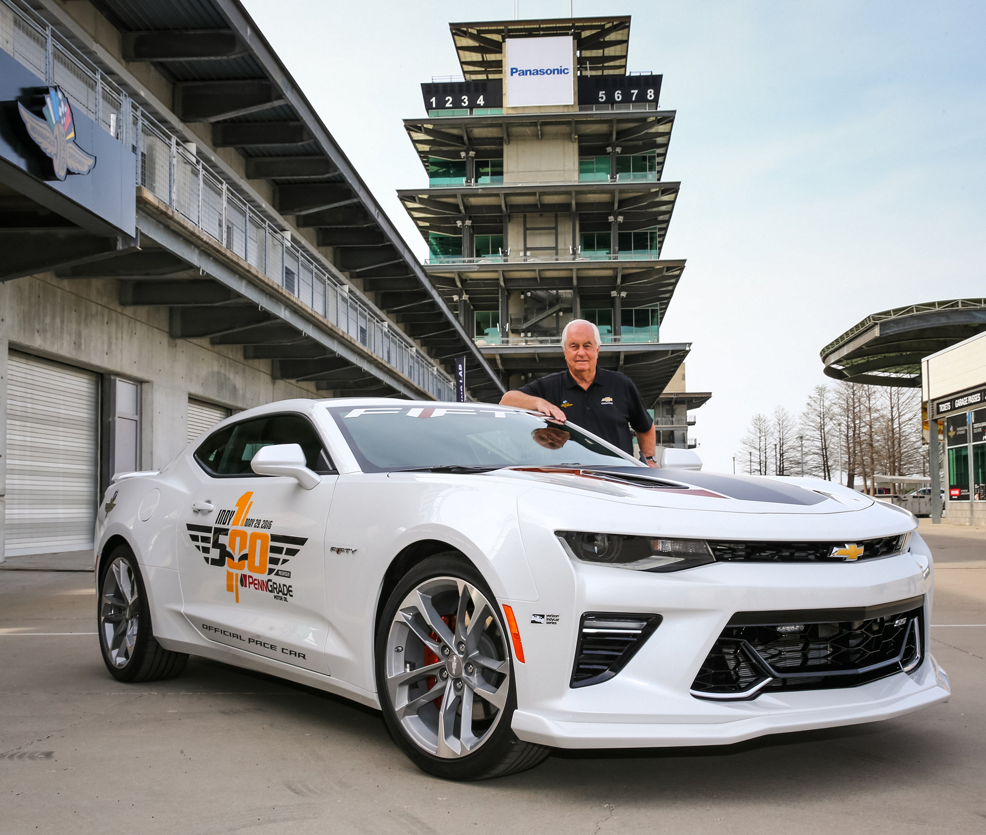50th Anniversary Camaro Ss To Pace Indianapolis 500