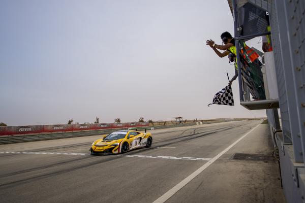 McLaren 650S Sprint secures maiden honours © McLaren Automotive