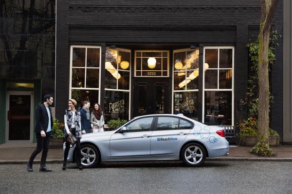 ReachNow © BMW AG