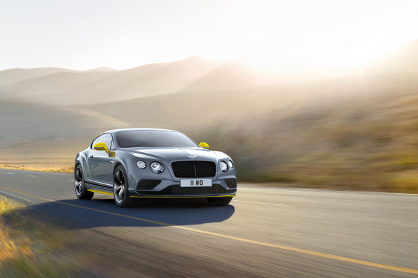 Bentley Continental GT Speed Black Edition © Volkswagen AG