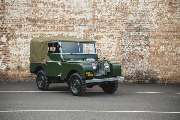 Land Rover Series I 'Reborn' © Tata Group