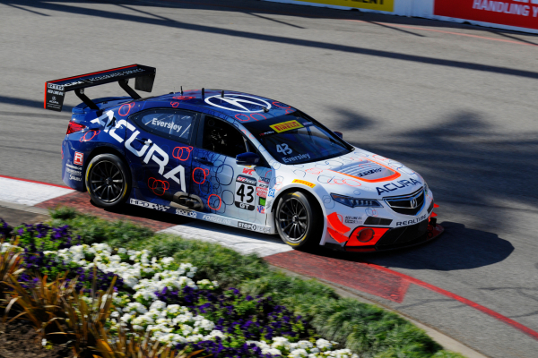 Ryan Eversley again led the Acura attack at Long Beach, coming through the field after an early-race pit stop to finish seventh. Teammate Peter Cunningham finished 12th after late-race contact resulted in a spin © Honda Motor Co., Ltd.