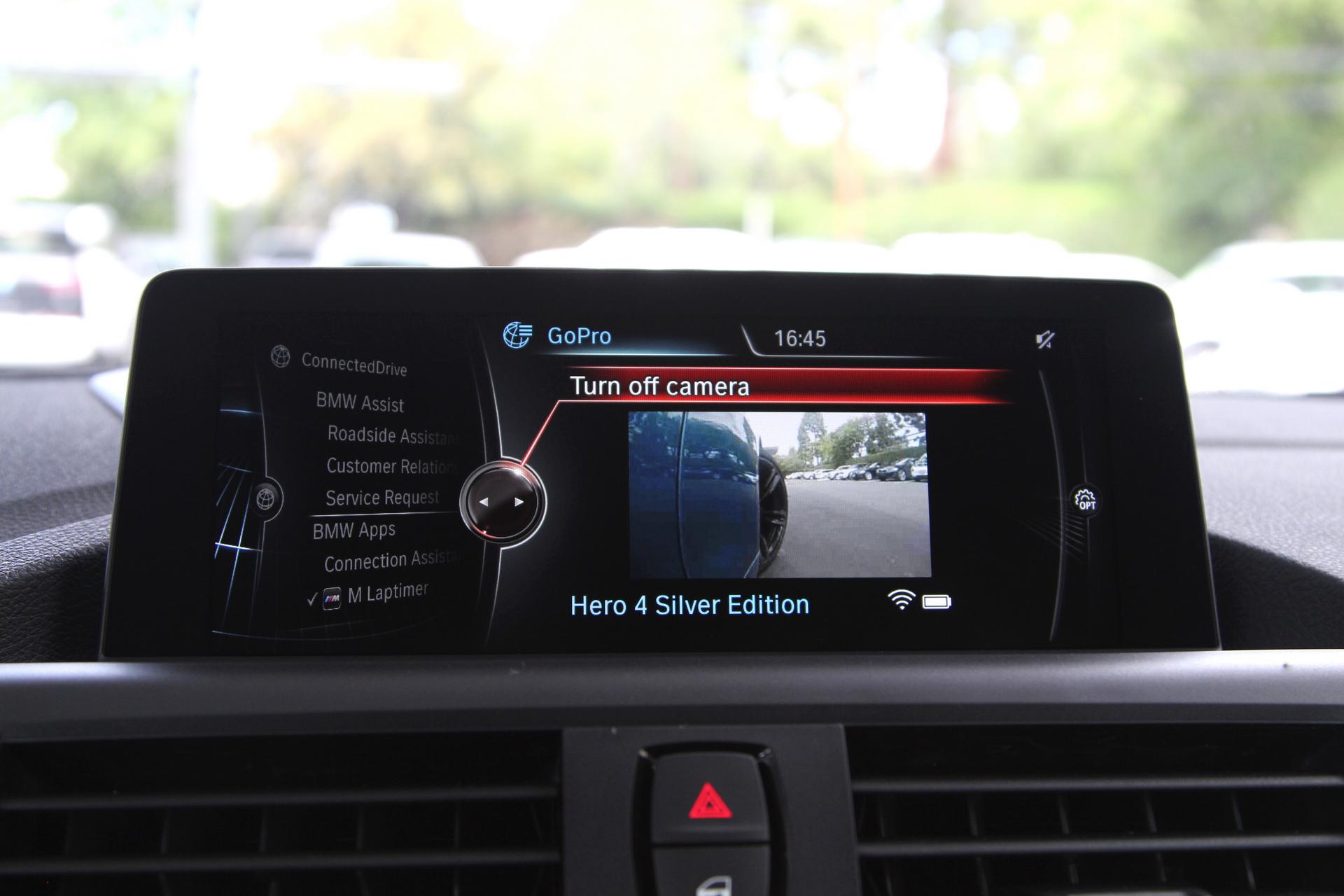 2016 BMW M Laptimer GoPro Integration © BMW AG