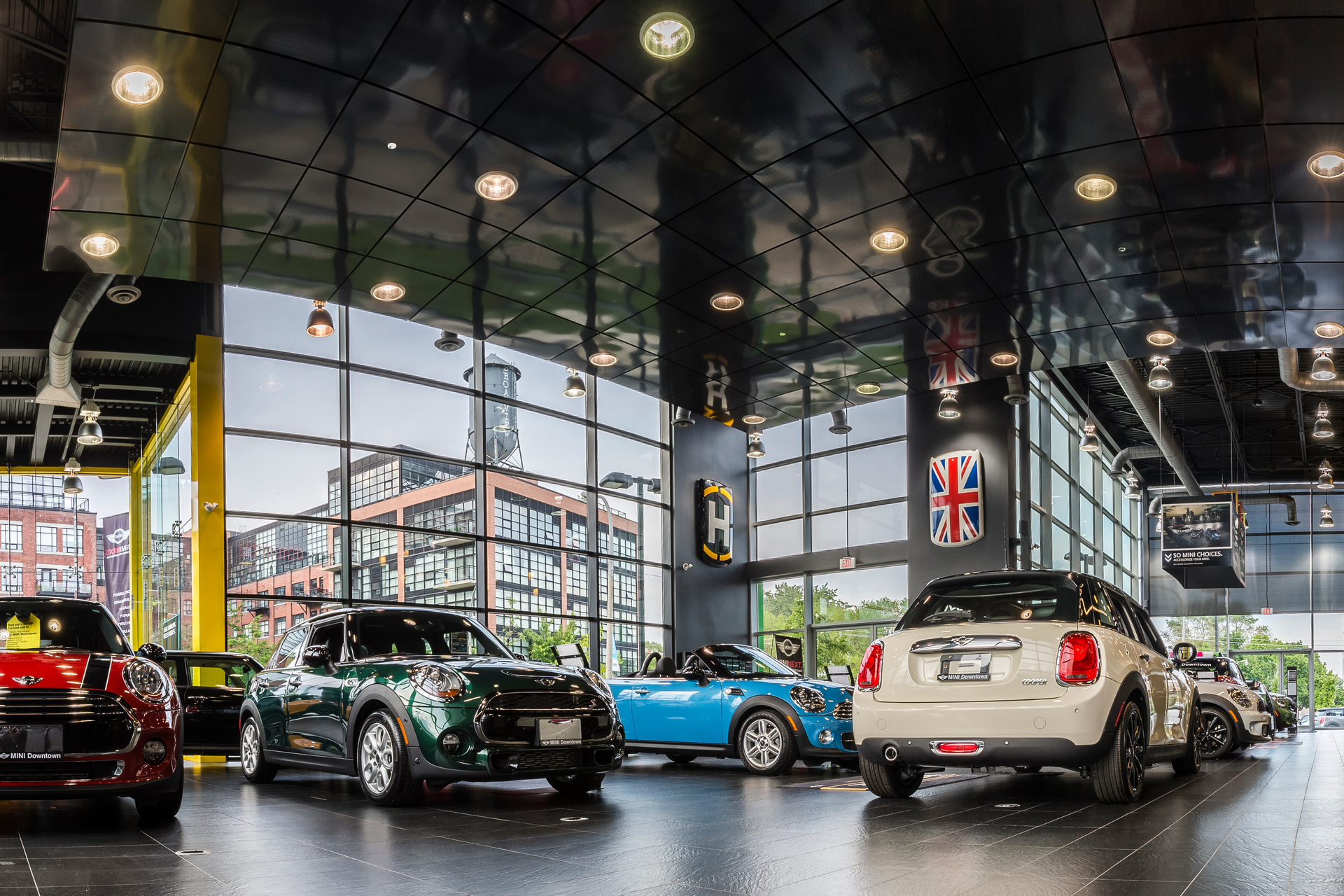 MINI Downtown Dealership In Toronto, Ontario, Canada