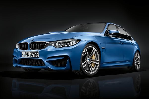 2016 BMW M3 Sedan © BMW AG