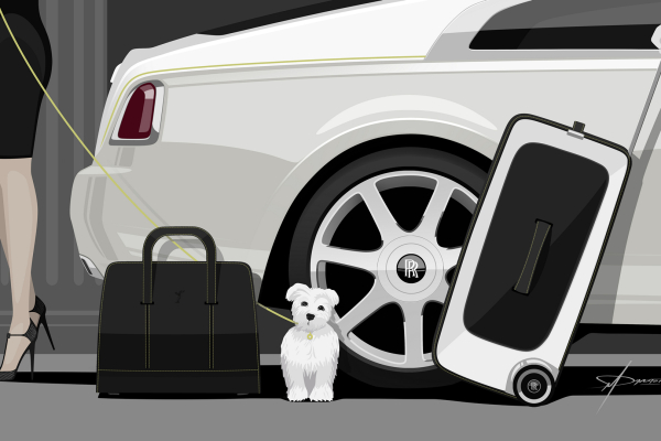 Wraith Luggage Collection Demonstrates the Art of True Luxury Conveyance © BMW AG