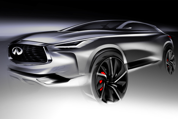 Infiniti QX Sport Inspiration © Nissan Motor Co., Ltd.