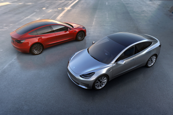 Tesla Model 3 © Tesla Motors, Inc.