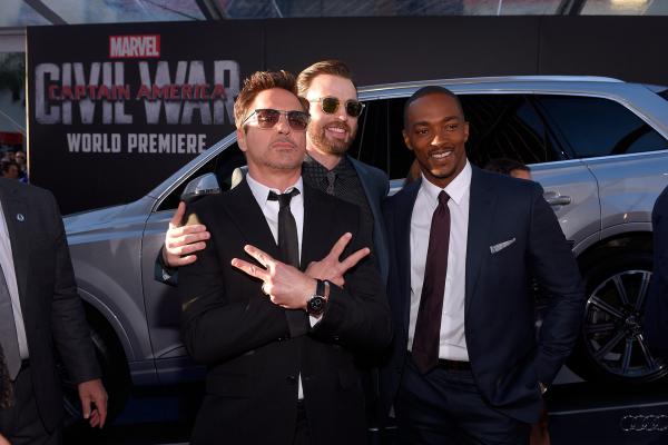 Audi Celebrates the premiere of Captain America: Civil War © Volkswagen AG