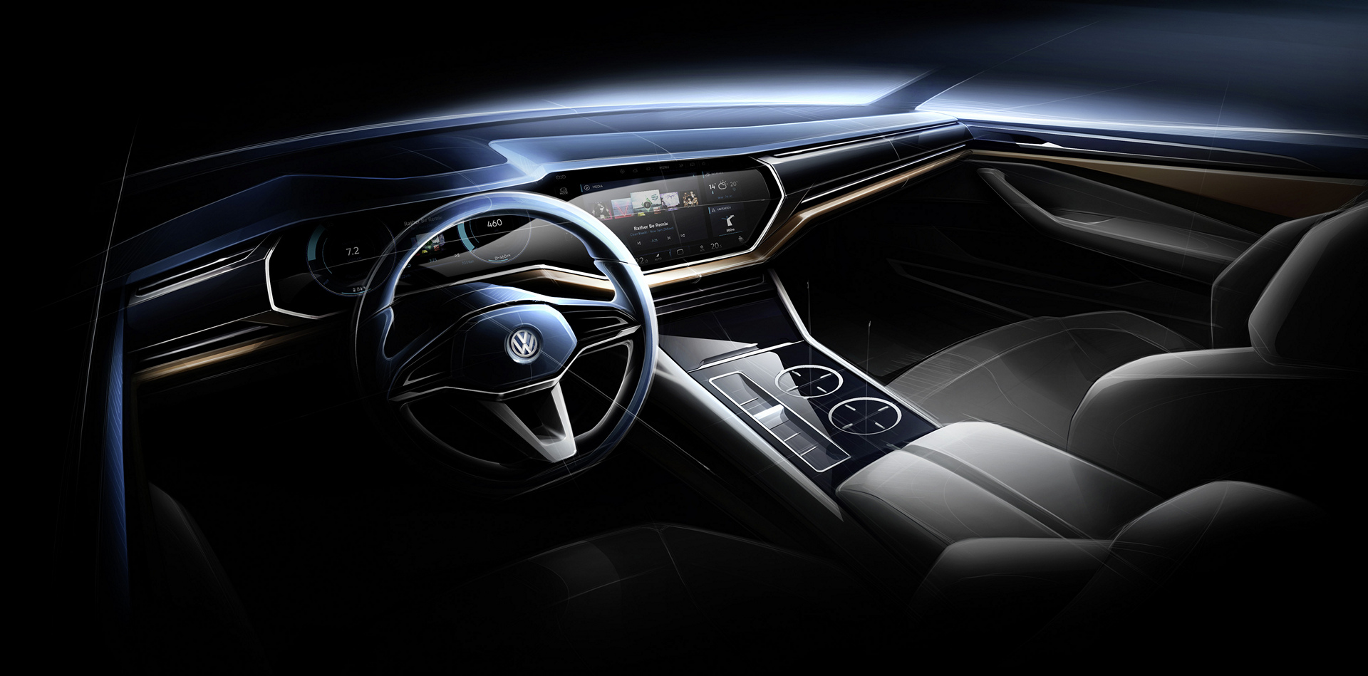 volkswagen t prime concept gte makes world premiere at auto china 2016 carrrs auto portal. Black Bedroom Furniture Sets. Home Design Ideas