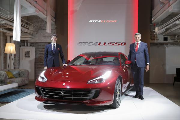 Ferrari GTC4Lusso Far East Premiere © Fiat Chrysler Automobiles N.V.