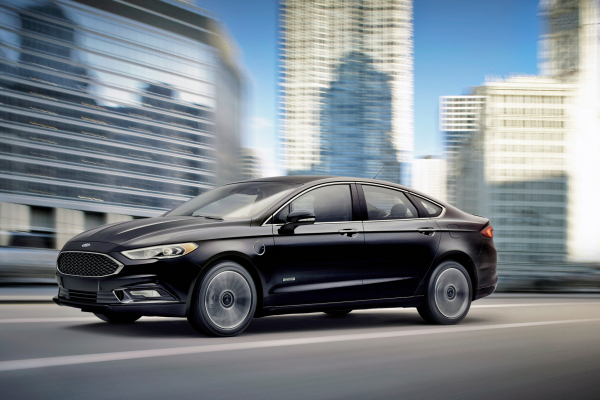2017 Ford Fusion © Ford Motor Company