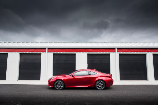 2016 Lexus RC 350 F SPORT © Toyota Motor Corporation