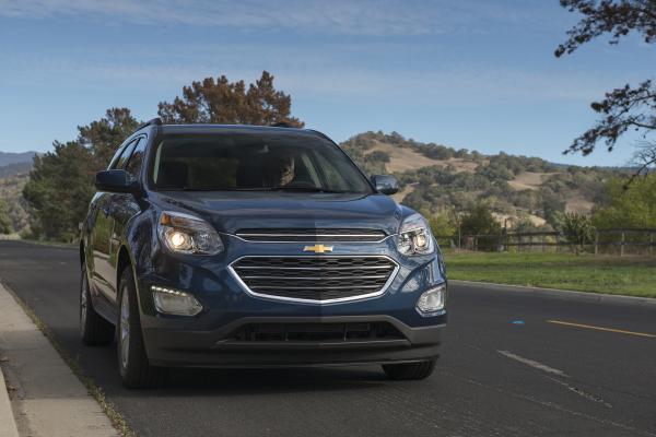 2016 Chevrolet Equinox LT © General Motors