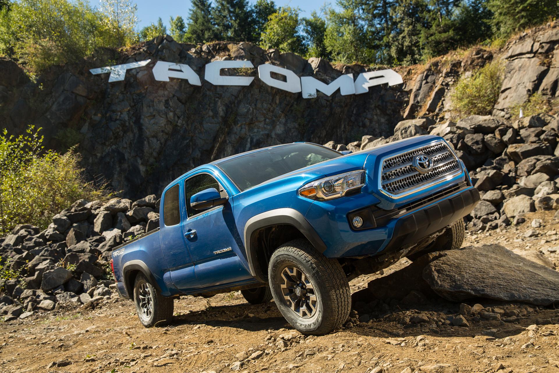 2016 Toyota Tacoma TRDOR © Toyota Motor Corporation