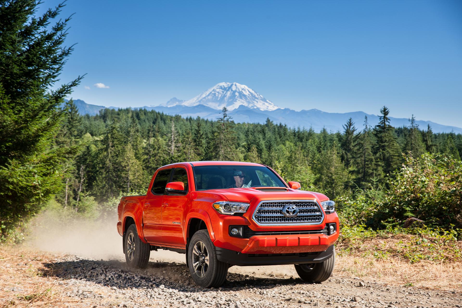 2016 Toyota Tacoma TRD Off-Road © Toyota Motor Corporation