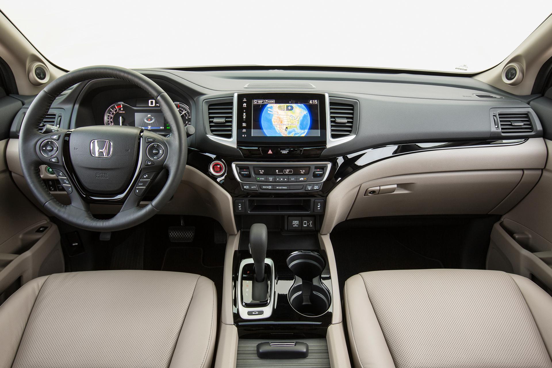 2017 honda ridgeline preview carrrs auto portal - 2017 honda ridgeline rts interior ...
