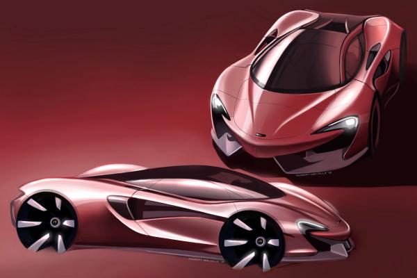 McLaren Automotive launches European Design Tour © McLaren Automotive