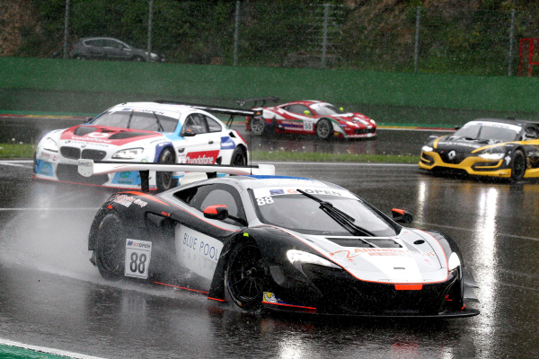 The 650S GT3 claims double top-10 finish in Canada and Podium finishes in Spa © McLaren Automotive