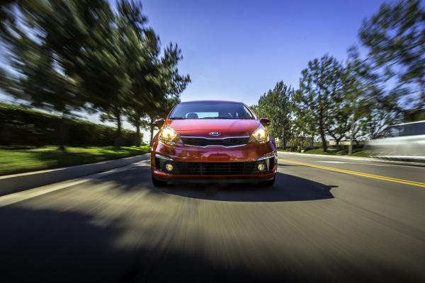 2016 Kia Rio Sedan © Kia Motors